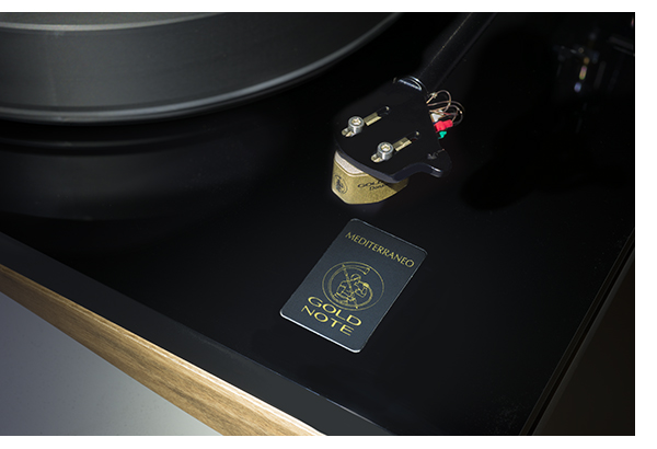 The Gold Note Mediterraneo Turntable