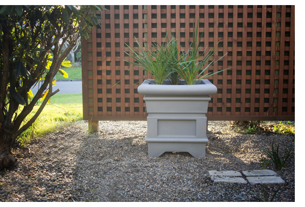 Outdoor Planter Speakers Madison fielding flagstone planterspeakers style toneaudio magazine art powers jr one of the company principles mentions that under driving the speakers is the biggest problem they have with the speakers out in the field workwithnaturefo