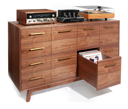 The Ultimate Record Cabinets, On Sale! – Industry News | TONEAudio ...