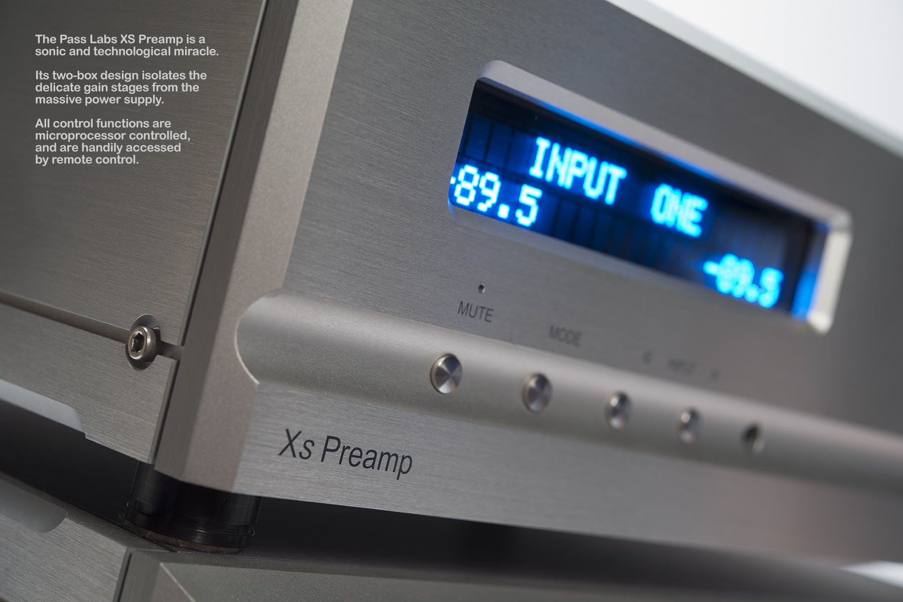Pass Labs XS Preamp
