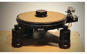 The AVID Volvere SP Turntable