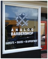 Welcome to the Analog Barbershop