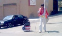 Elvis Spotted in Portland Oregon