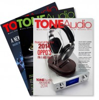 Kickstarter campaign for TONEAudio in PRINT