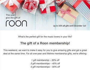 Roon Labs Special Offer!