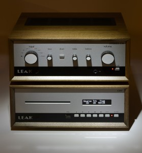 Leak's Stereo 130 Amplifier and CDT Disk Transport