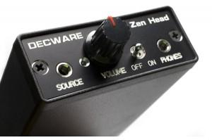 Decware Zen Head headphone amplifier and Phiaton MS400 headphones