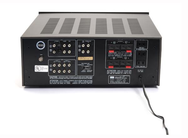 Sansui AU-717 Integrated Amplifier – Old School | TONEAudio