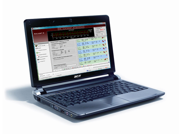 Laptop containing Adjust + software from Feickert Analogue