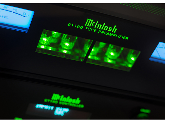 McIntosh's Flagship C1100 Tube Preamplifier – Reviews