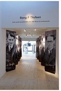 bang and olufsena entrance to museum - edit