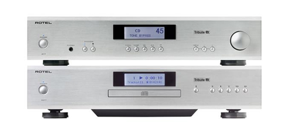 Rotel's A11 Tribute Integrated Amplifier